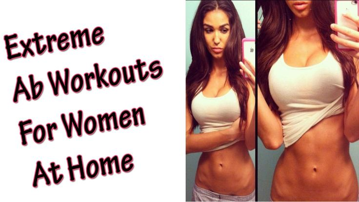 Ab Workouts For Women | Extreme Ab Exercises For Women at Home | Women's...