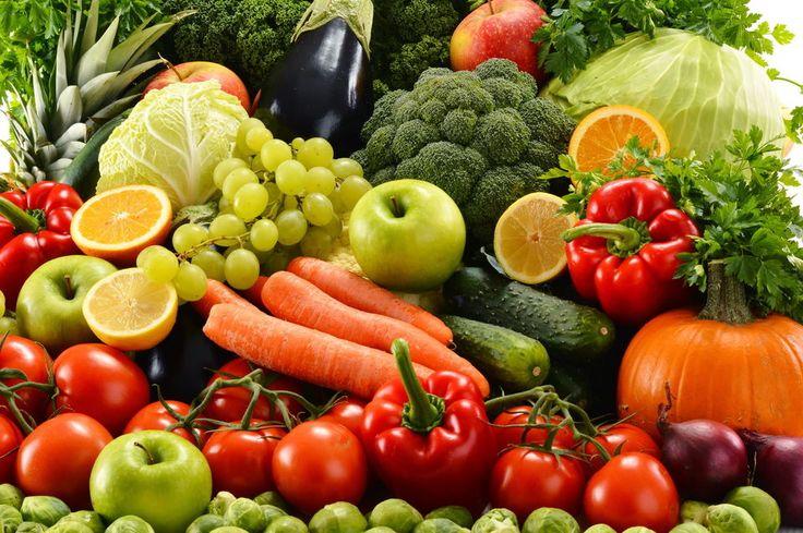 Bloc fruits légumes alimentation