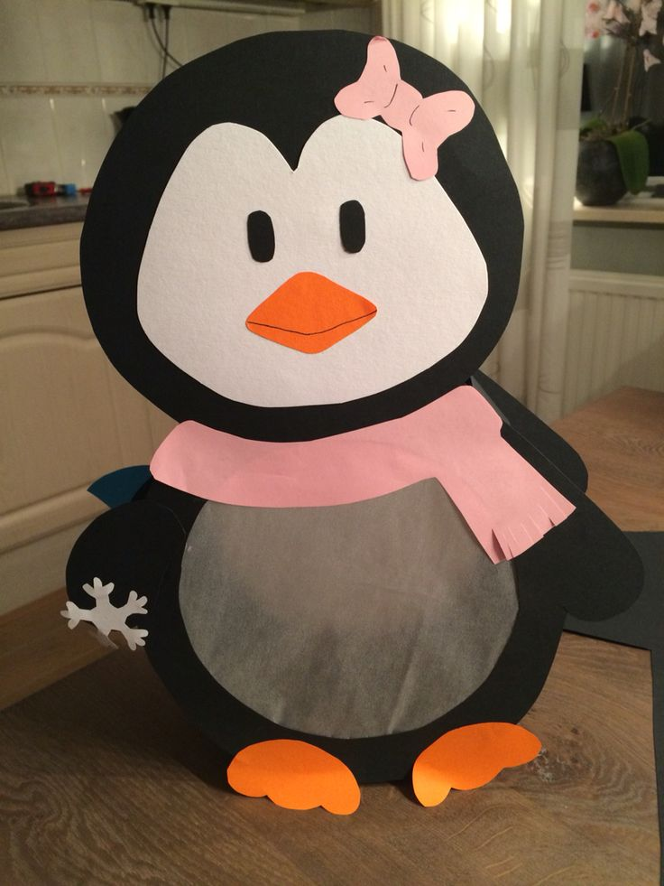 Pinguïn lampion
