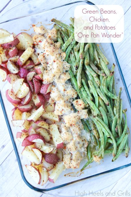"Green Beans, Chicken, and Potatoes ""One Pan Wonder"""
