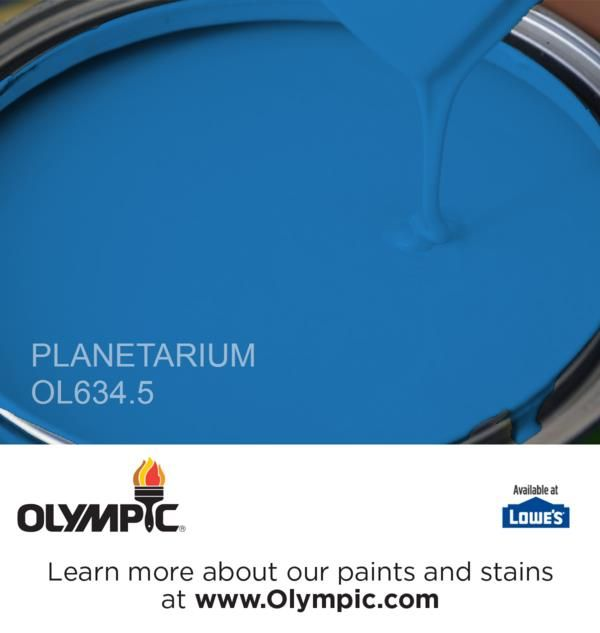 PLANETARIUM OL634.5 Is A Part Of The Blues Collection By Olympic® Paint.
