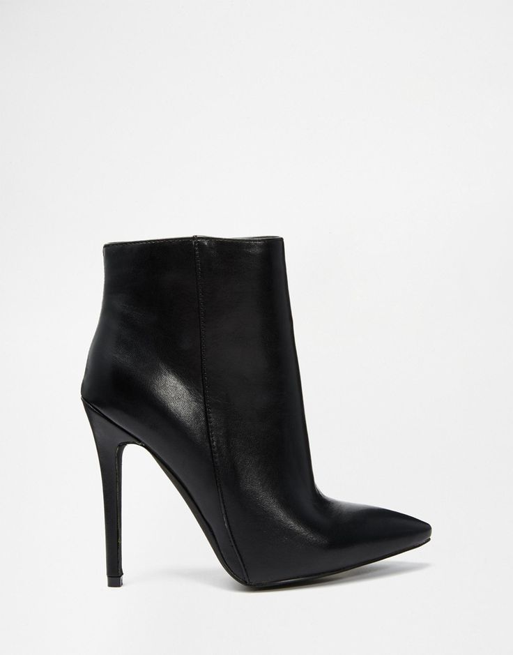 Image 2 ofBoohoo Pointed Heeled Ankle Boots