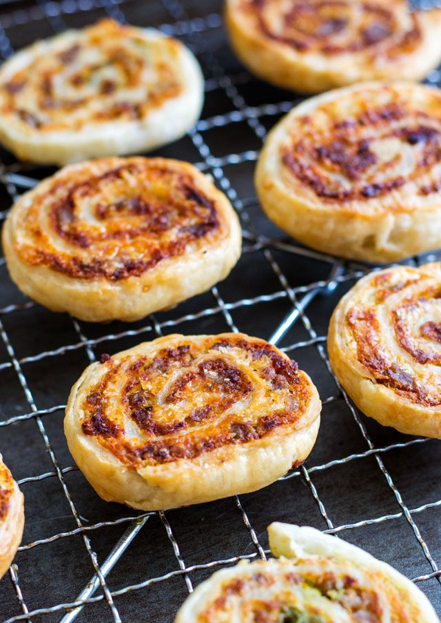 Sausage and Lentil Pinwheels are the perfect Holiday finger food! www.culinary-cool.com #LoveLentils #ad
