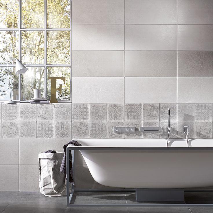 Ber ideen zu fliesen betonoptik auf pinterest for Badezimmer industriedesign