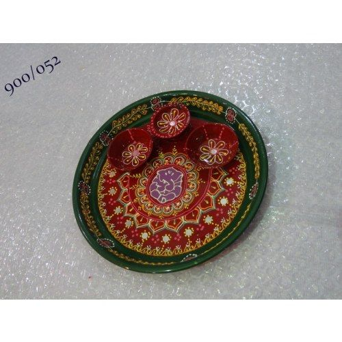 hand designed beautiful work pooja thali- Online Shopping for Diwali Pooja Accessories by Rinu Rakhi - Online Shopping for Diyas and Lights by Rinu Rakhi - Online Shopping for Diyas and Lights by Rinu Rakhi - Online Shopping for Diyas and Lights by Rinu R