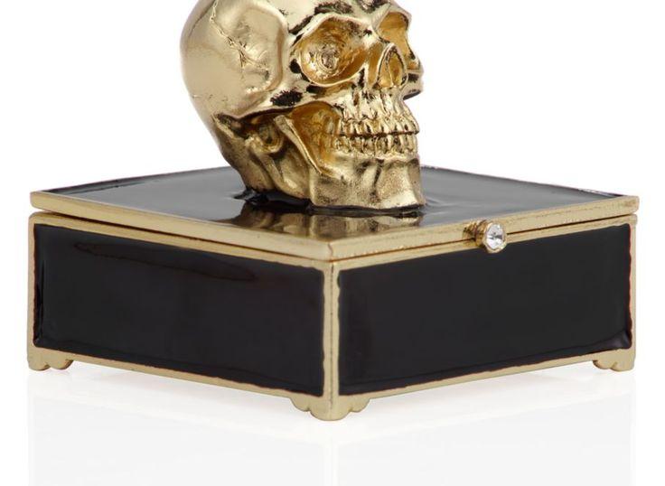 Morton Skull Trinket Box | Jewelry-boxes | Accessories | Decor | Z Gallerie