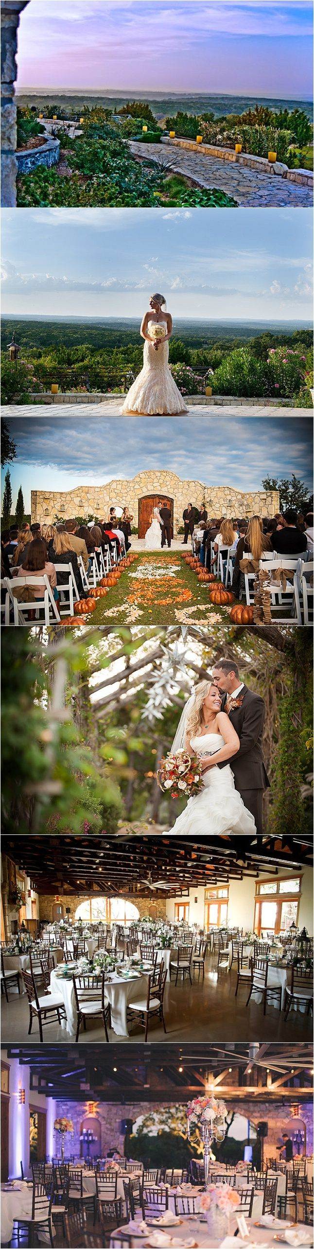 Texas Hill Country: Rancho Mirando. Fischer, TX. via San Antonio Weddings  www.DebbieKrug.com