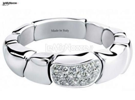 http://www.lemienozze.it/gallerie/foto-fedi-nuziali/img40176.html Gioielli per il matrimonio: anello per la sposa in oro bianco