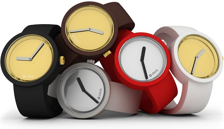 Gold and Silver O clock watches