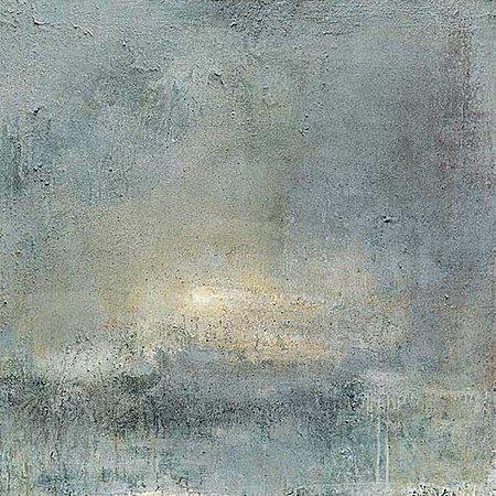 Ørnulf Opdahl: Vinterdagen, 2001, 120 x 120 cm