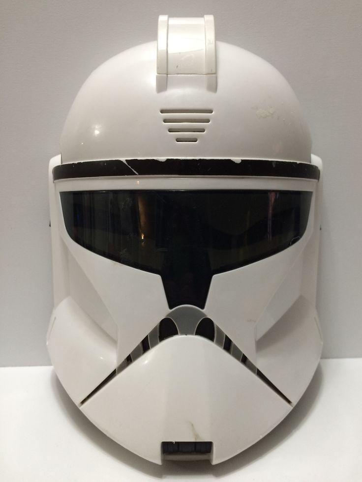 (TAS031702) - Collectable Halloween Mask - Star Wars Storm Trooper