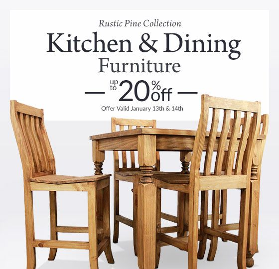 131 best Rustic Pine Furniture Dining images on Pinterest