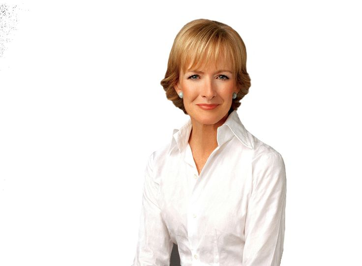 Judy Woodruff, PBS news anchor and journalist.