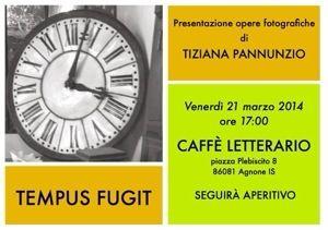 Tempus Fugit by Tiziana Pannunzio