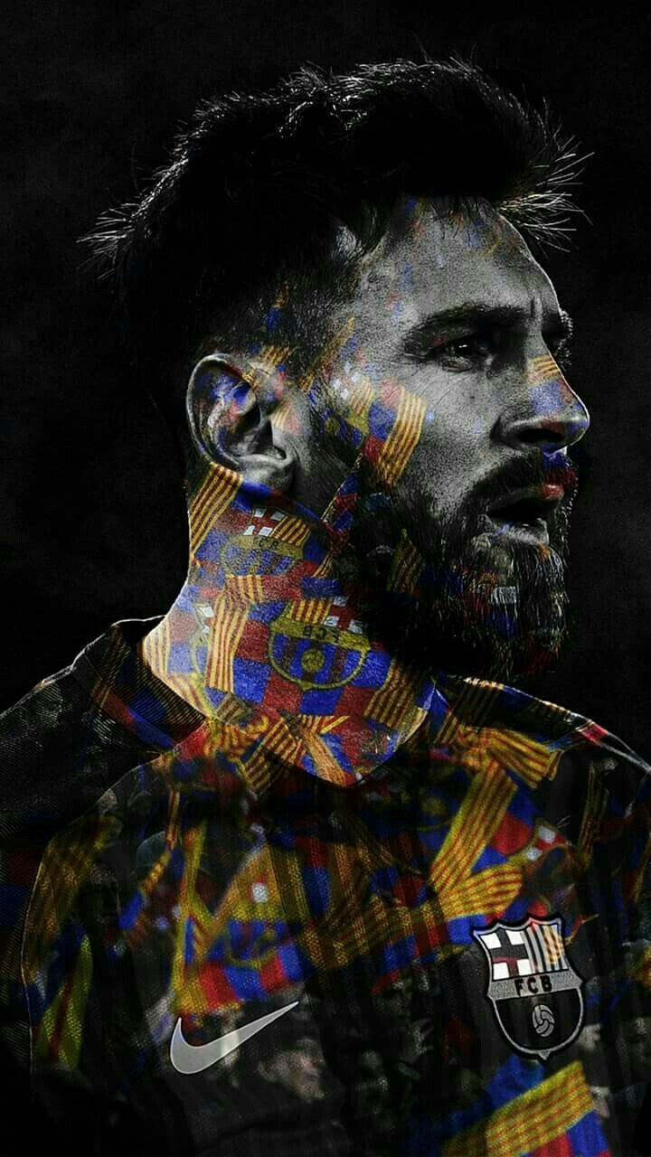 The Lion(el Messi)  The loyal king I love him❤️