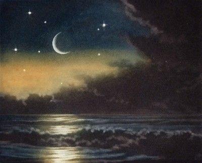 Susan Jameson : Crescent Moon at Davidson Galleries