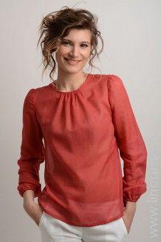 #blouse #winter #autumn #LinoRusso #РусскийЛен #silk #cotton