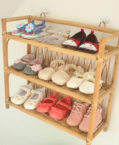 Perfect idea for all the little converse my kids tend to collect.