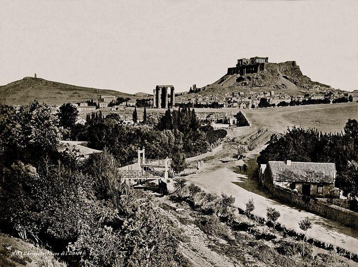 Η Αθήνα και ο Ιλισός το 1872