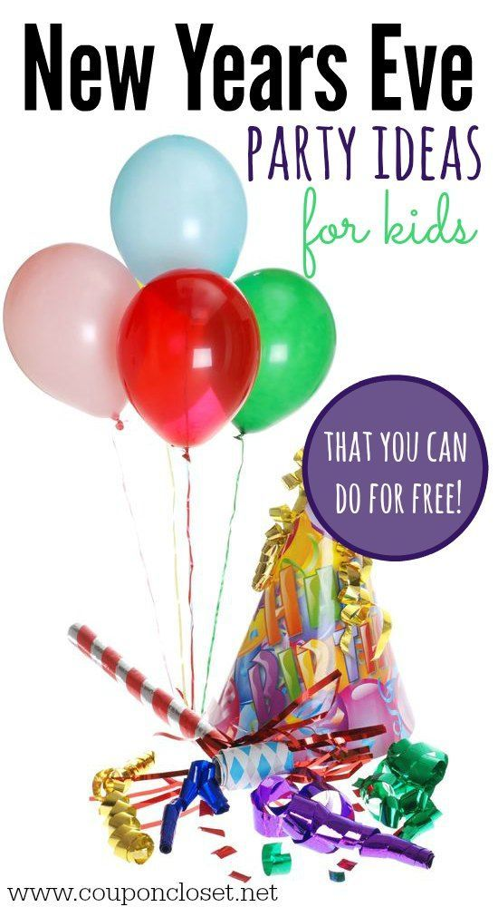 Here are 8 new years eve party ideas for kids that you can all do for free. The entire family will have a blast with these new years eve party ideas.