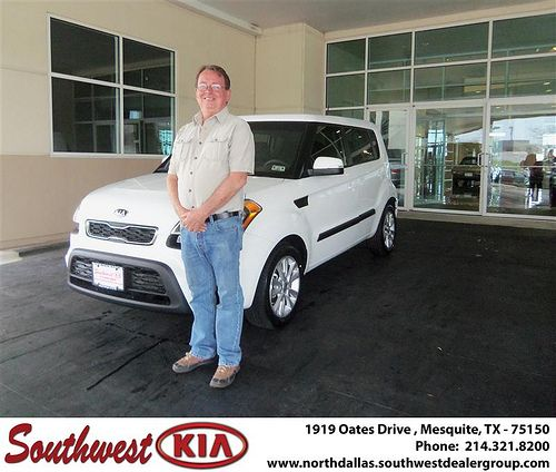 Happy Birthday to Joel Cooley  from Carlos Urrutia and everyone at Southwest Kia Mesquite!