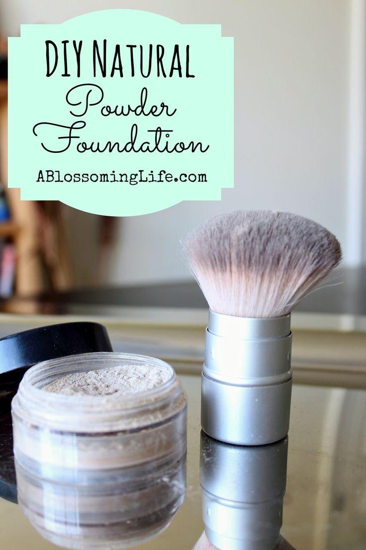 DIY Powder Foundation