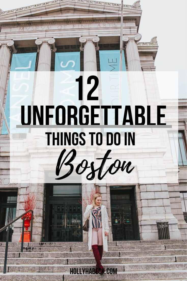 12 Unforgettable Things to Do in Boston This Weekend – Hannah Rogers