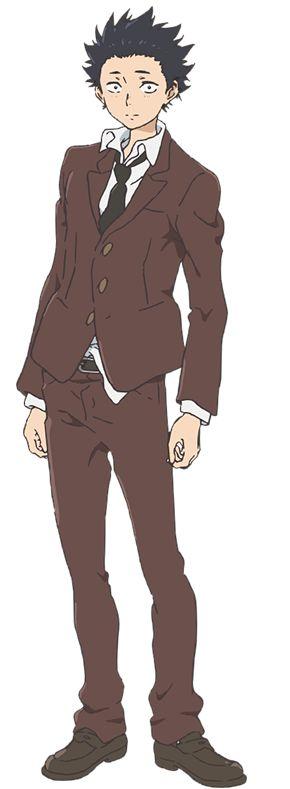 Miyu Irino como Shoya Ishida en la película animada Koe no Katachi.