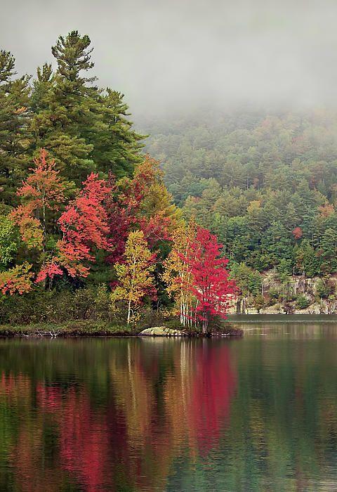 Autumn Breath / Adirondacks Mountains, New York / Fine Art America by Evelina Kremsdork