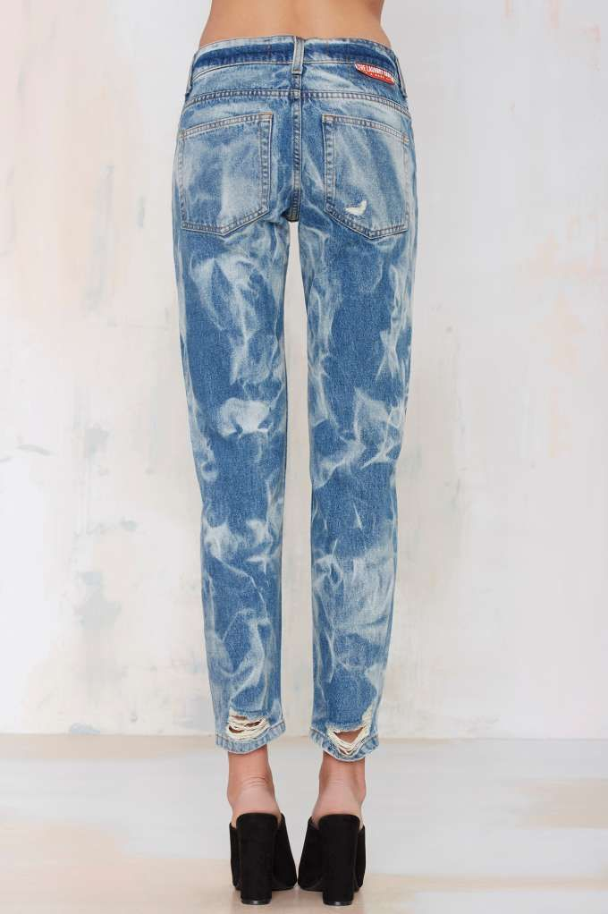 The Laundry Room California Bad Boys Boyfriend Jeans - Denim