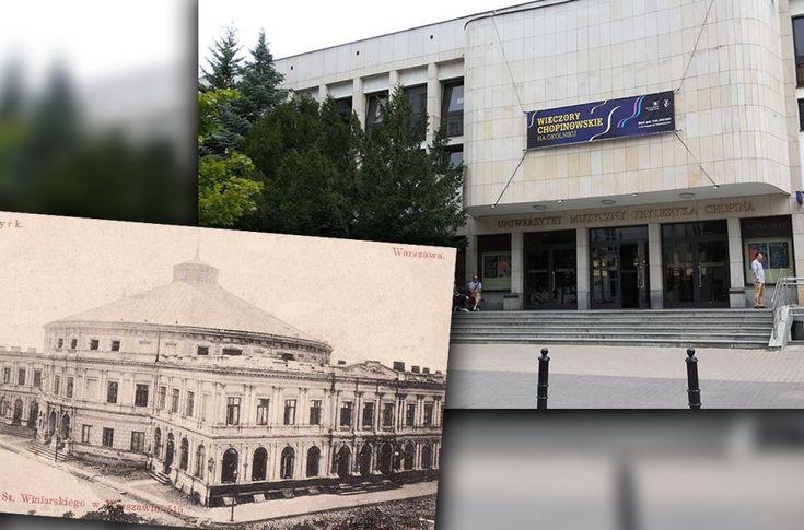 Cyrk Braci Staniewskich: róg ul. Ordynackiej i Okólnik, tu Eugeniusz Bodo zaczynał swoją karierę jako cyrkowiec. W 1939 r. budynek ten doszczętnie zniszczono i nigdy nie odbudowano. Dzisiaj w tym miejscu znajduje się Uniwersytet Muzyczny Fryderyka Chopina, Warszawa, Poland
