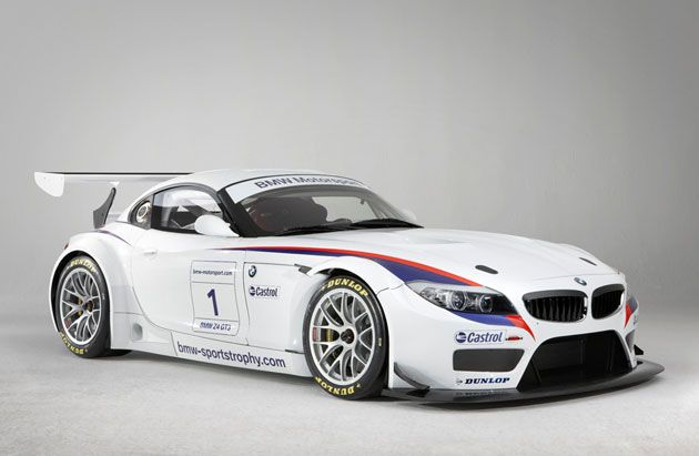 BMW Z4 GT3 V8-powered Z4 M