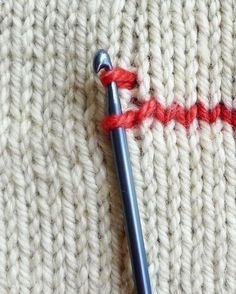 Wie man senkrechte streifen beim stricken häkelt – die purl bee von olga