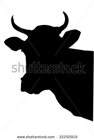 silhouette images cow - Bing Images