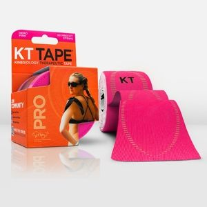 Pink KT tape is perfect when you need athletic tape with a little fun!