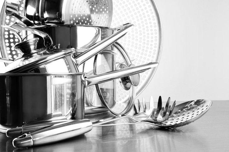 Семь способов очистить посуду из нержавеющей стали - KitchenMag.ru