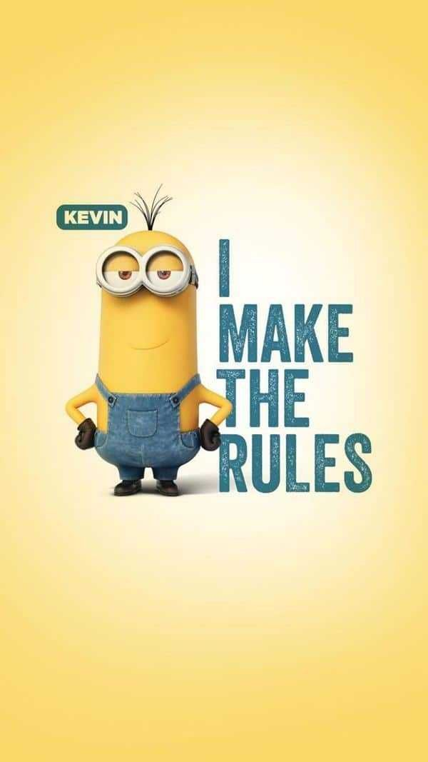 Best Funny Quotes Funny Sayings 3 Rules Of The Life Minions