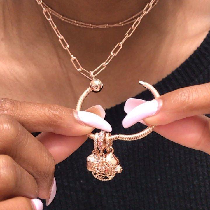 Pandora Bracelet Charms Necklace