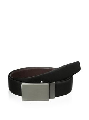 Van Heusen Men's Reversible Plaque Buckle Belt