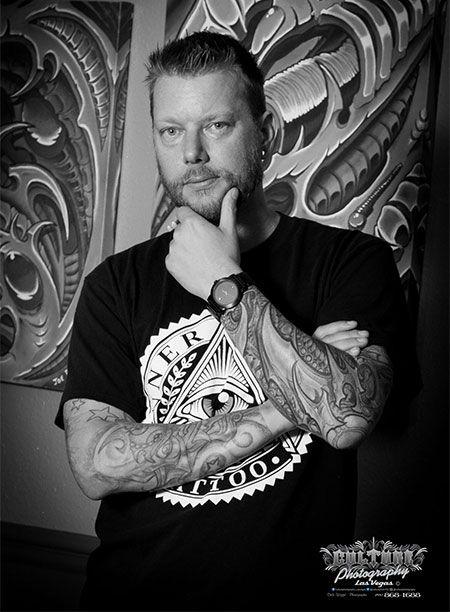 Best Tattoo Artists Near Me Las Vegas tattoo artist Joe Riley was ...