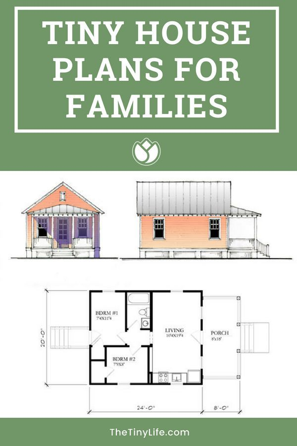 Tiny House Plans For Families The Tiny Life Tiny House Plans Tiny Houses Plans With Loft House Plans