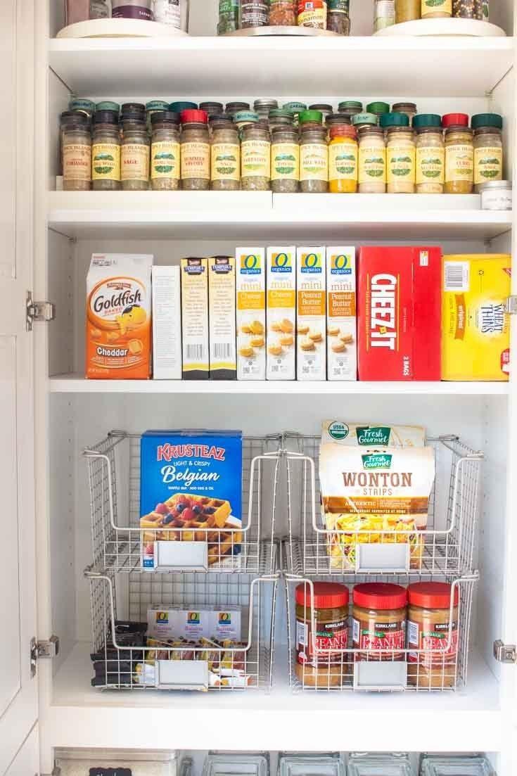 9 Tips For Kitchen Organization Happy Happy Nester Kitchen Cupboard Storage Kitchen Pantry Storage Extra Kitchen Storage