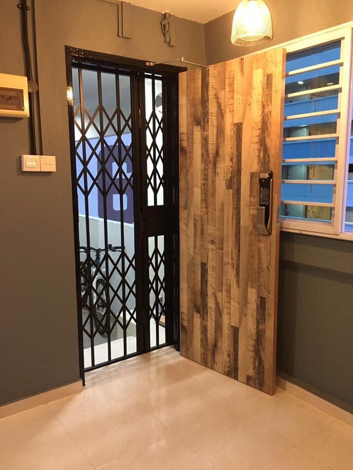 Locked Door Foyer Bonfire : Best laminate fire rated solid main door images on
