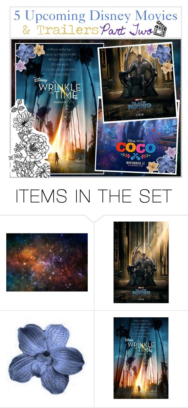 """""""5 Upcoming Disney Movies & Trailers"""" by addicted-to-disney ❤ liked on Polyvore featuring art"""