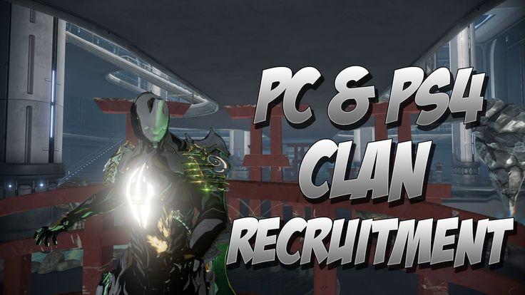 Nice Warframe : PS4 & PC Clan Recruitment Check more at http://dougleschan.com/the-recruitment-guru/types-of-recruitment/warframe-ps4-pc-clan-recruitment/