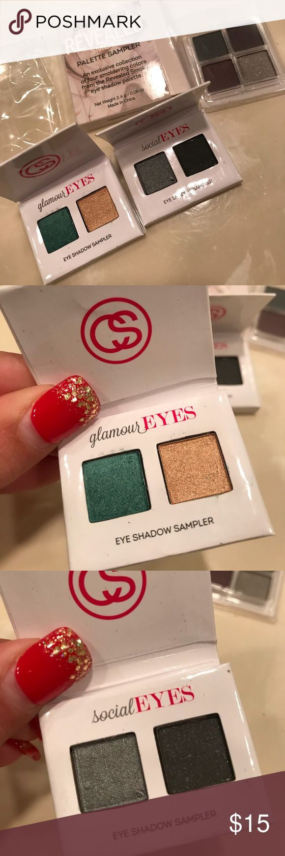 Coastal Scents Eye Shadow Samplers Bundle Of 3 All are brand new. coastal scents Makeup Eyeshadow