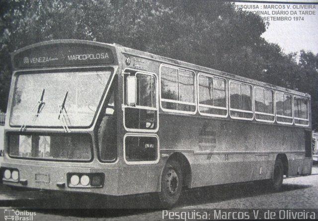 Ônibus da empresa Auto Viação Redentor, carro 6314, carroceria Marcopolo Veneza Expresso, chassi Cummins ULC210. Foto na cidade de Curitiba-PR por Pesquisa: Marcos V. de Oliveira, publicada em 28/07/2014 11:55:01.