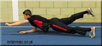 Core Strength Test developed by Brian Mackenzie, UK Athletics (track and field). Can't make it through this test.....yet.