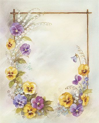love this, reminds of mom since her favorite flower was the pansy (mother's day card for Julie?)