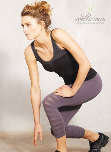 Our New AW14 seamless active range is now online at: www.wellicious.com/activewear-2.html  Shop now for your Organic Cotton/Polyamide pieces, perfect for running & fitness!